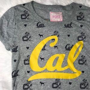 VS Pink Cal Bears Berkeley Crop Tee!